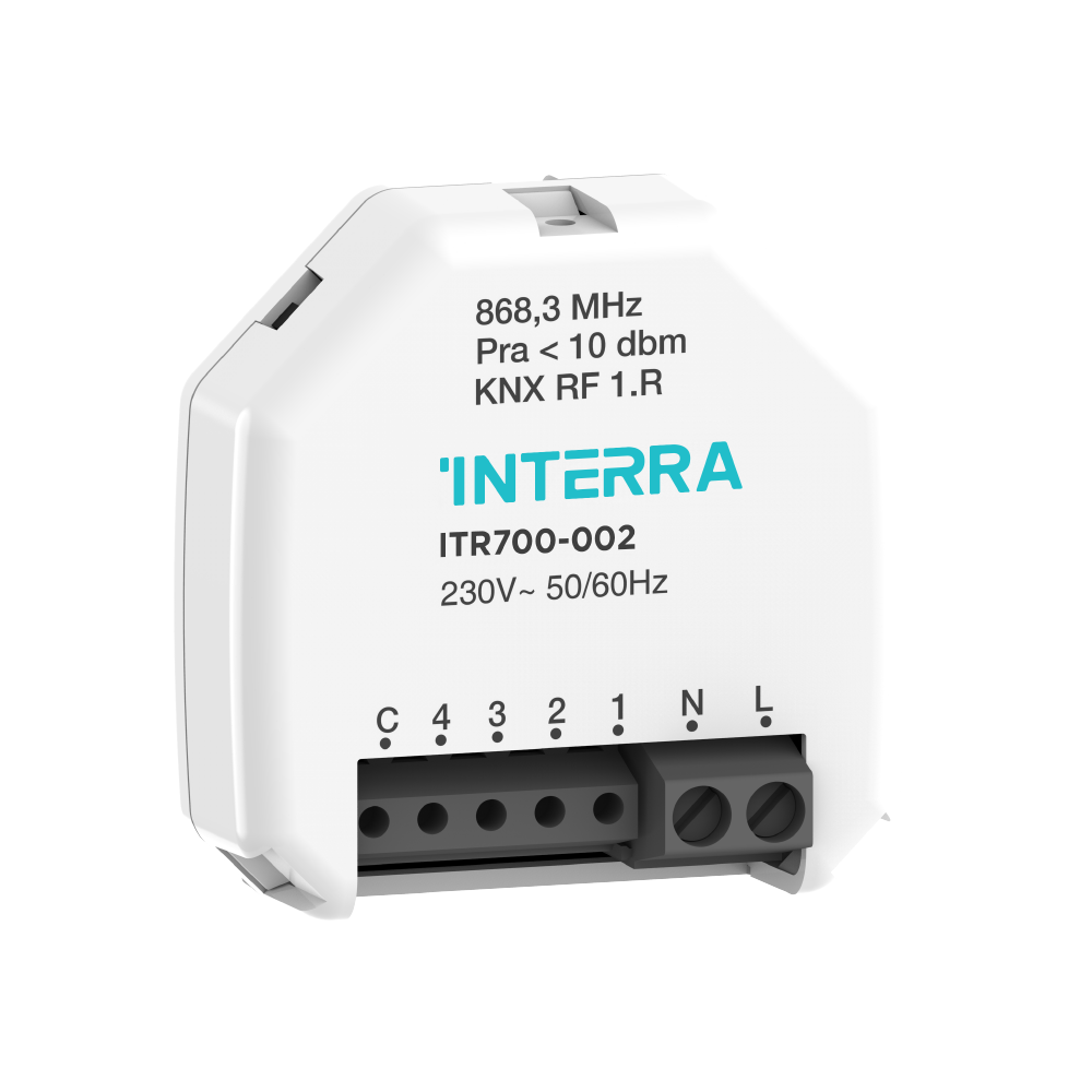 KNX RF 4 CHANNEL UNIVERSAL INTERFACE